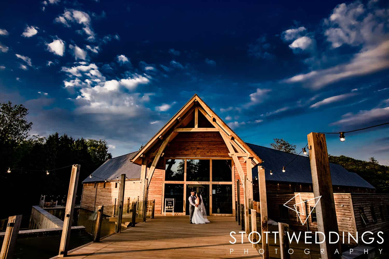 Journalistic wedding photography at The Mill Barns, Alveley