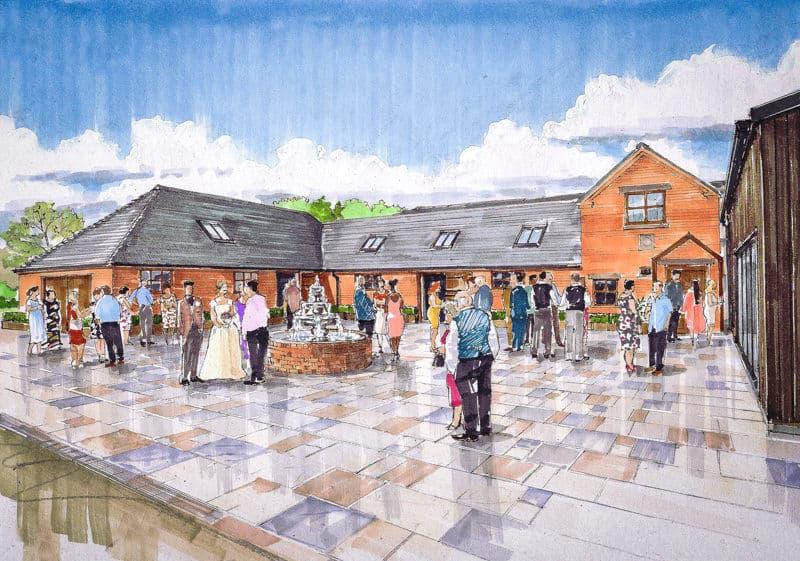 Hanbury Wedding Barn // New Wedding Venue, Staffordshire.